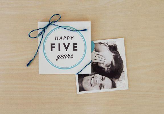 5 Year Anniversary Gift! :)
