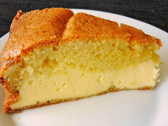 Plus Rezepte: Dreh-dich-um-Kuchen (einfacher und schneller Käsekuchen)