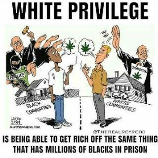 For those that don't seem to understand what we mean when we say White Privilege, here's an example.
