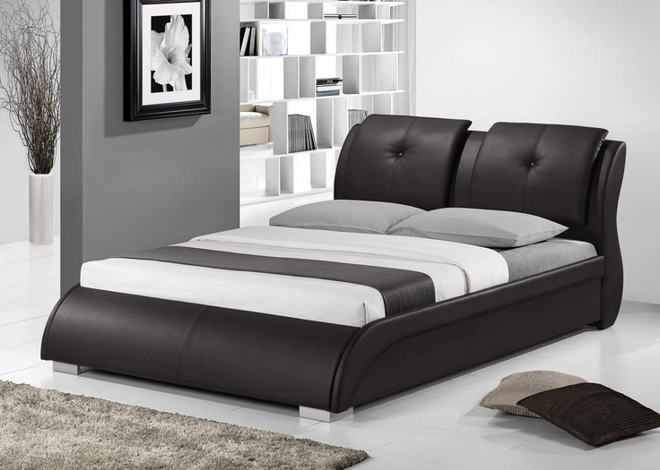 OLIO BED - Olio is the luxury in your bedroom. With its upholstered curves you can't resist sinking into and enjoying relaxing sleep.  It is the bed worth every pleasure; Colors available: Black, Brown, Taupe; Inner Dimensions:L246.38xW200.66xH93.98 cm; PRICE: Rs 59,900/-; Buy now: http://tfrhome.com/landing/productlandingpage.php?product_code=bd-04