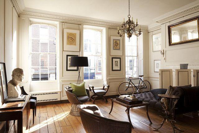 Hackett London {eclectic baroque modern living room} | Flickr