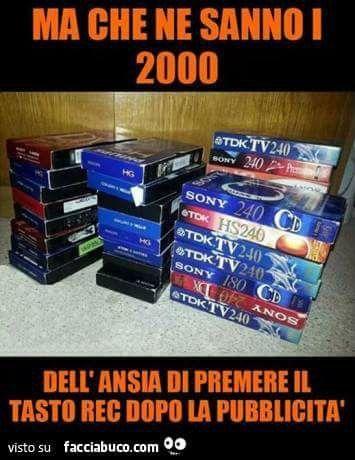 Video cassetta tv