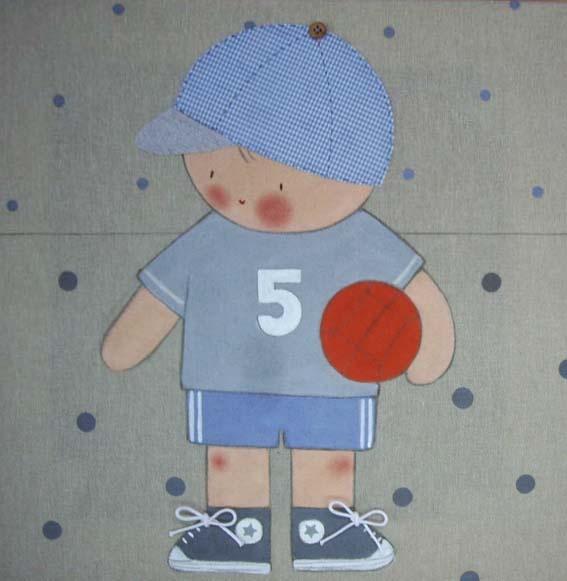 cuadros infantiles stencil