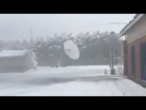 Record-breaking May Snowfall in Caribou, Maine - Weather Channel Videos