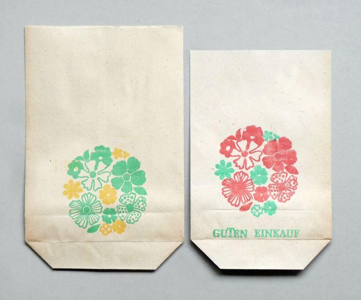 GDR shopping bags.