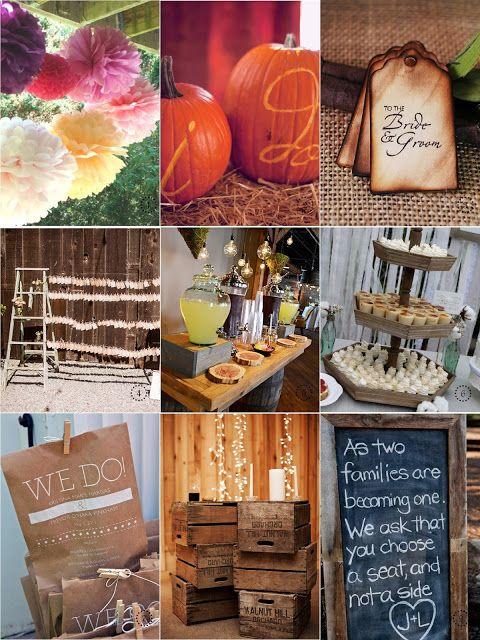 rustic wedding ideas | Baci Designer: Handpicked | Rustic Wedding Decorations