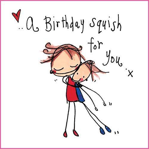 Happy Birthday, Mar! A Big Birthday Squish For You!