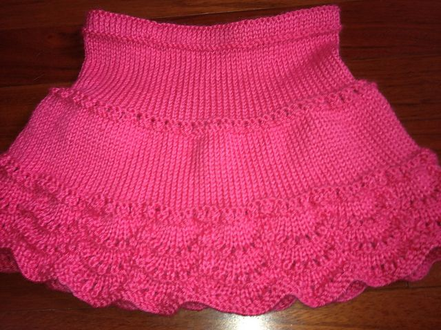 How about attaching this skirt (free pattern) to the bottom of a sweater and turning it into a dress?