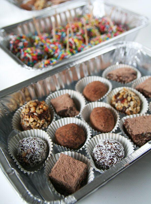 Praline miste ottime da portare da amici Ricetta perfetta per realizzare dolcetti golosi da regalare