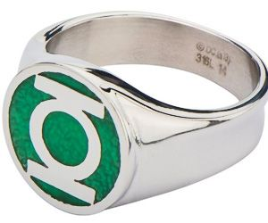 ...Beware My Power, GREEN LANTERN'S LIGHT! This AWESOME Stainless Steel Men's Ring will make you feel like a Superhero! With the iconic Green Lantern Symbol, the Enameling is Detailed and COOL, and makes this Ring …