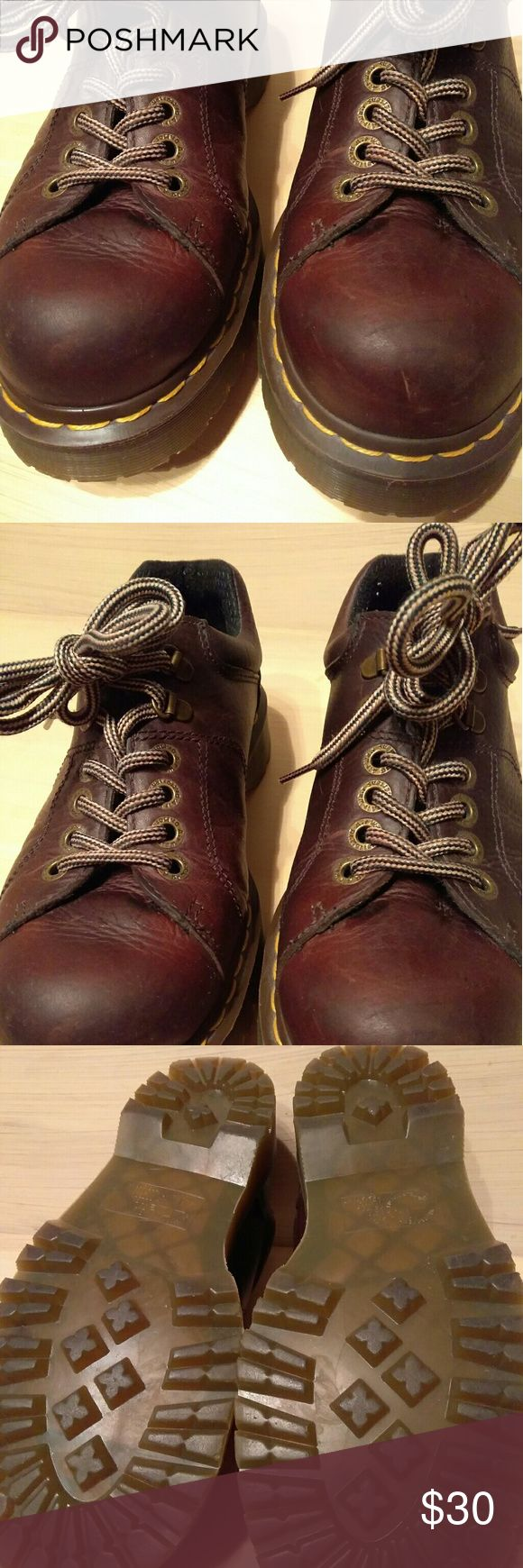 Distressed Oxford Shoes Mens