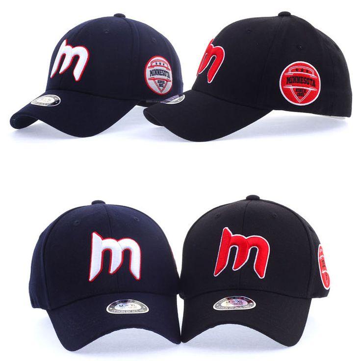 Mens Women Unisex Minnesota M Logo Flexfit Baseball Cap Stretch Fit Trucker Hats #hellobincom #BaseballCapHats