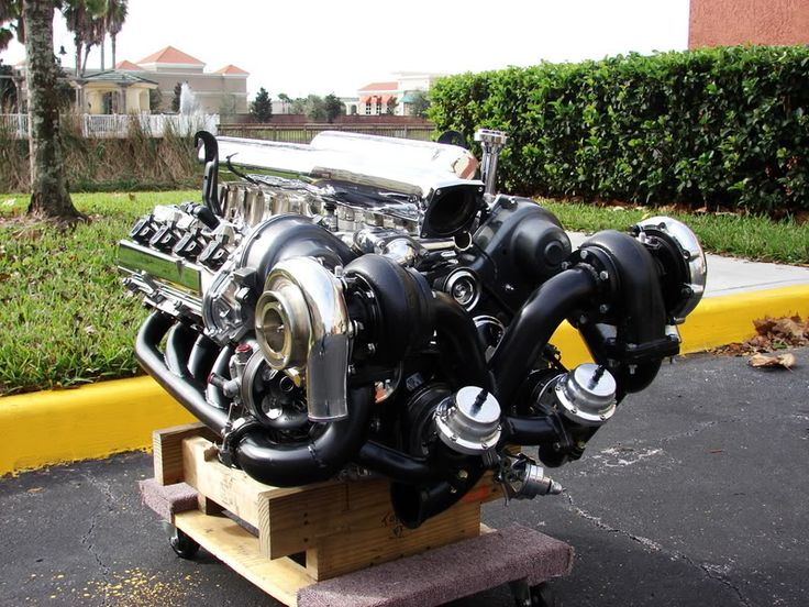Twin Turbo V8 engine that could go in my 69 truck