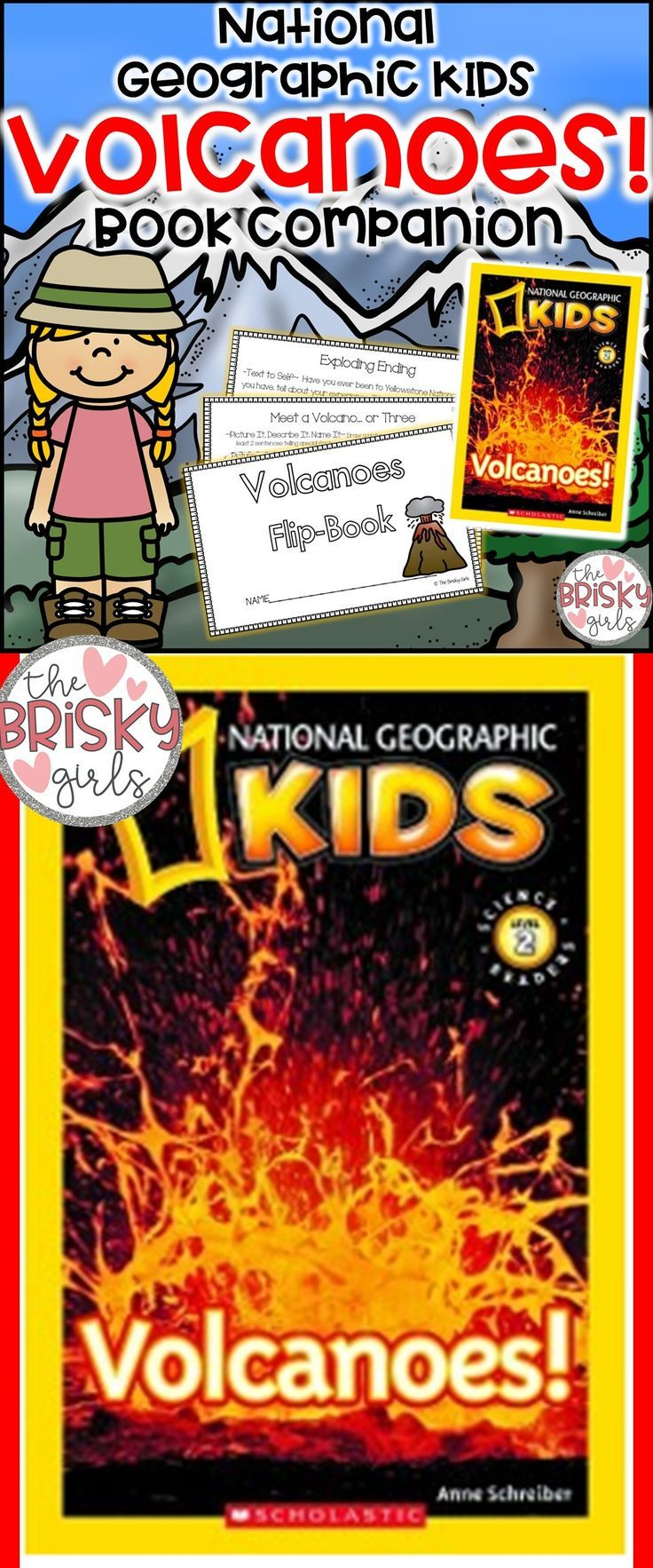 Volcanoes Volcano Information Volcano Reading Passages The Ring Of Fire Tectonic Plates Science For National Geographic Kids Flip Book Resource Classroom [ 1766 x 736 Pixel ]