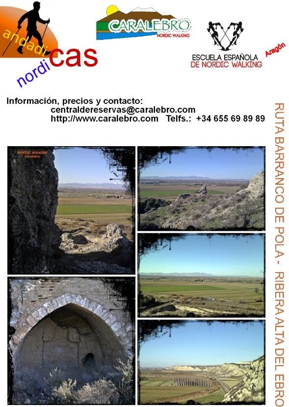 Ruta Barranco y Castillo de Pola - Remolinos