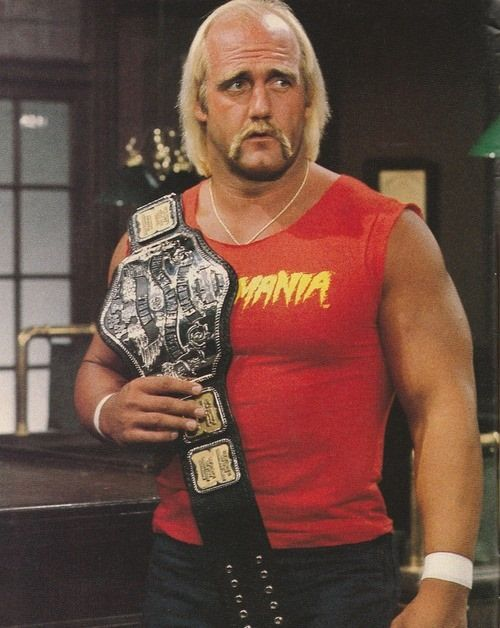 Pictures Of Hulk Hogan In The 80s