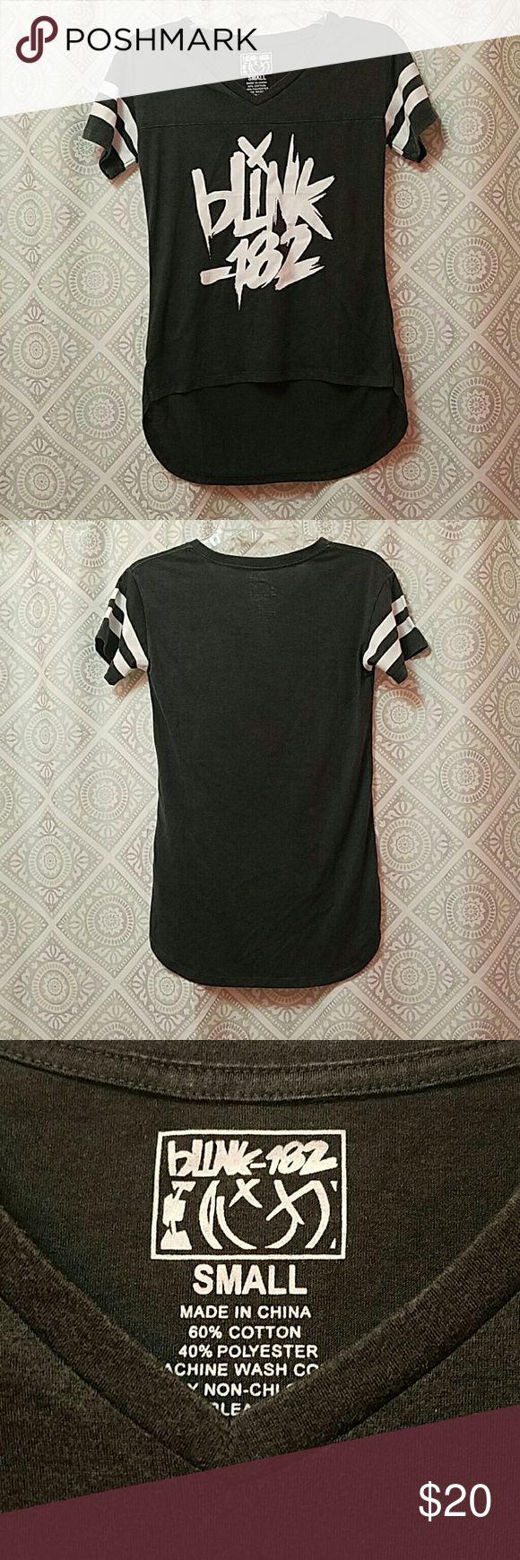 Blink 182 shirt Authentic Blink 182 concert t-shirt. NWOT Never worn. Tops Tees - Short Sleeve