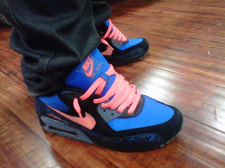 best sneakers 56698 99ee7 ... 90 blue and orange Jon Burgerman 2008 Euro Collab Nike Airmax. Shout  out to afrokix for replacing the .
