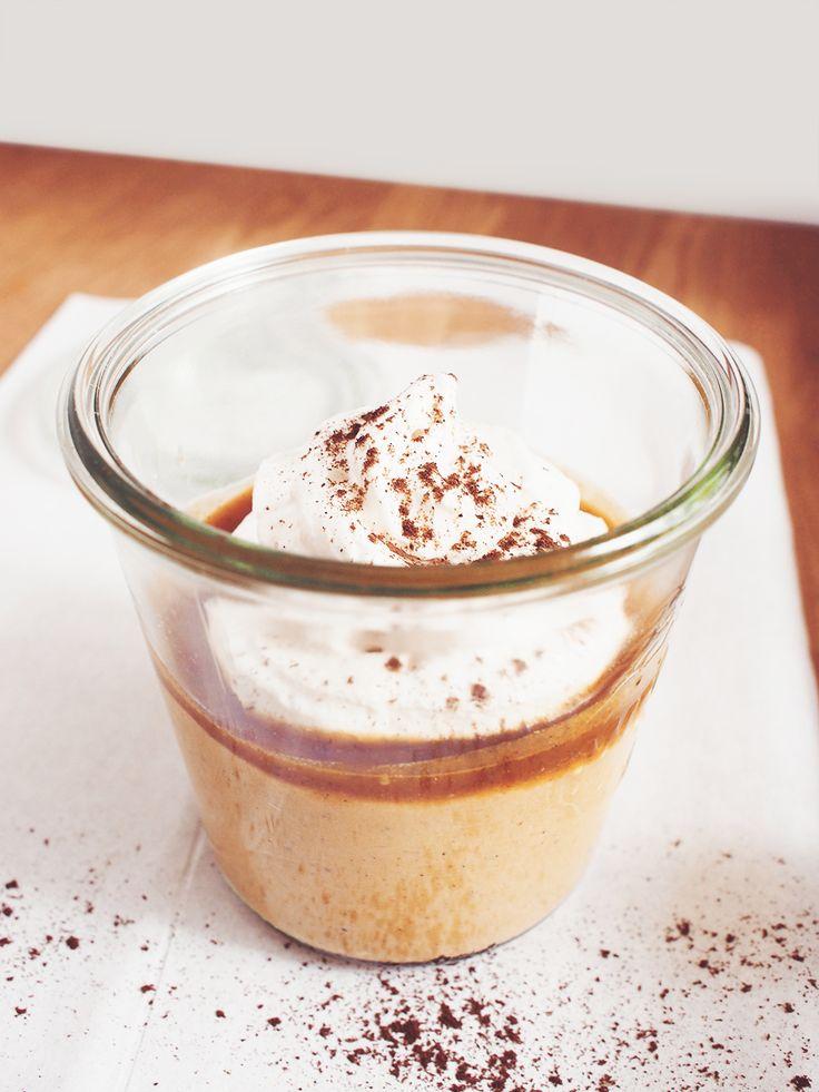 Millet pumpkin pudding / vegan / gluten-free