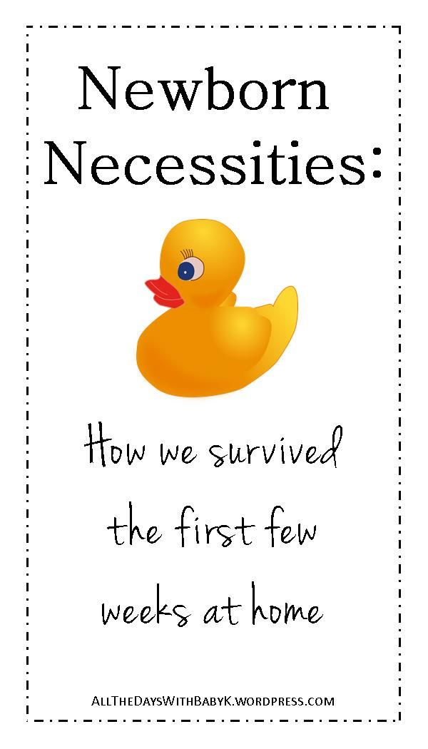 Newborn necessities: A list of baby items that were essential our first few weeks home. | baby registry | newborn needs | newborn survival | baby gear | new mom