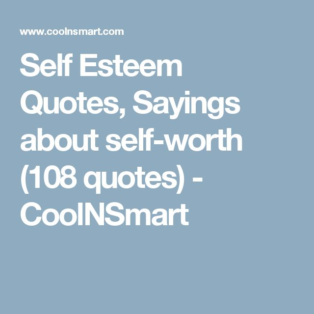 Inspirational Self Worth Quotes