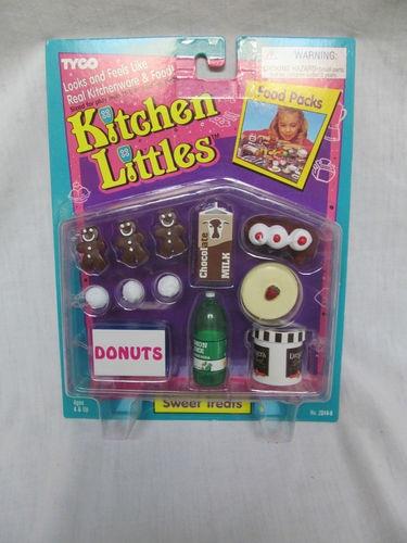 Barbie Toy Food : Brand new barbie tyco kitchen littles sweet treats