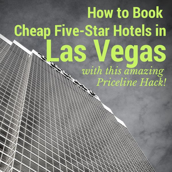 Do you want to know how to book cheap five-star hotels in Las Vegas? I've stumbled upon an amazing Priceline hack that can get you five-star hotels in Las Vegas for under $100 a night. Let me show you how!