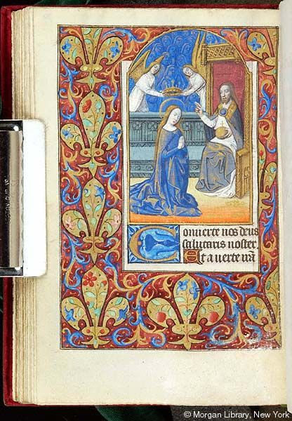 Book of Hours, MS G.4 fol. 70v - Images from Medieval and Renaissance Manuscripts - The Morgan Library & Museum