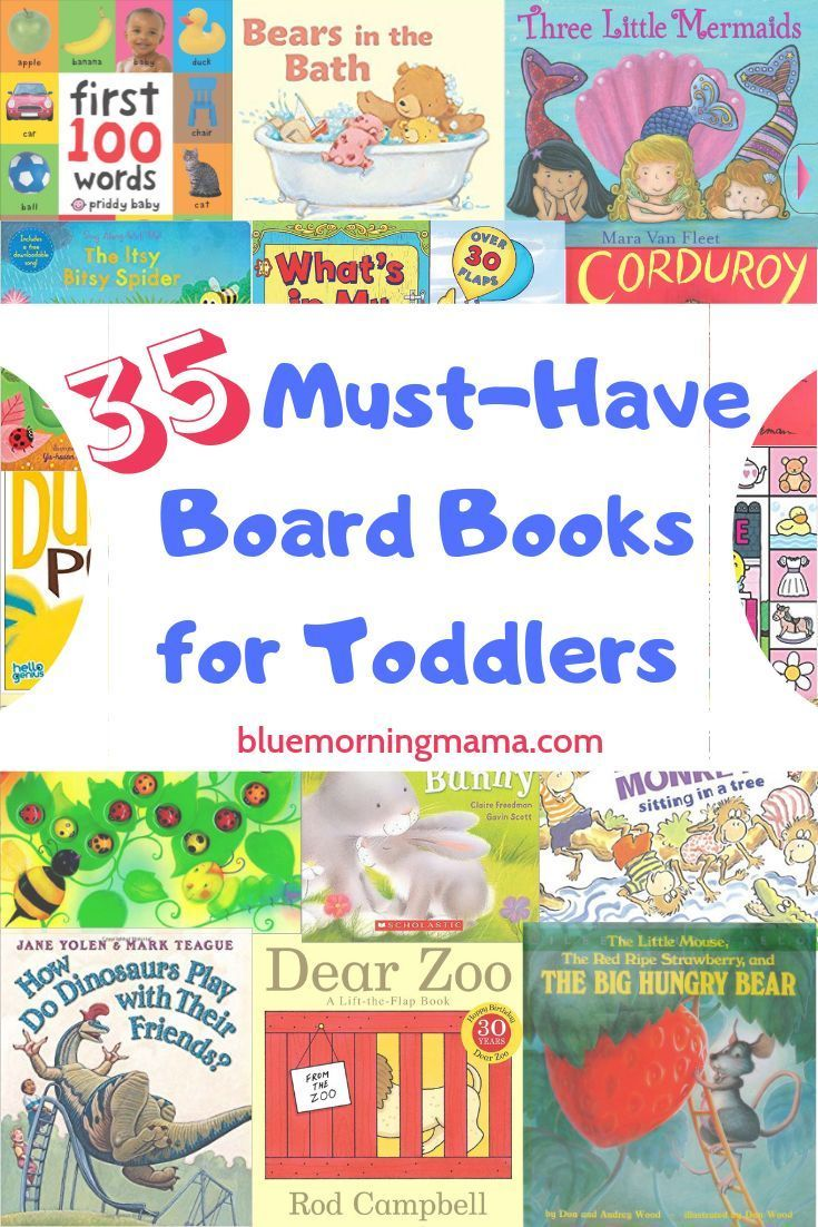 A list of the 35 best board books for toddlers toddler
