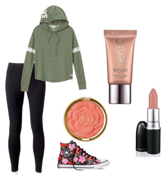 Untitled #54 by chloe-brianne-shenkle on Polyvore featuring polyvore fashion style Victoria's Secret Jockey Converse Milani David Jones Urban Decay clothing