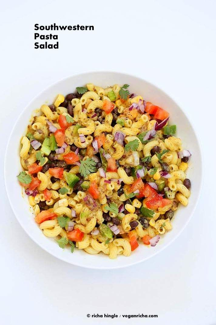 Southwestern Pasta Salad   Vegan Richa #vegan #oilfree