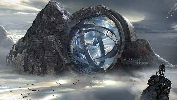 Titanfall 2 Game Art Sci-Fi Landscape Wallpaper