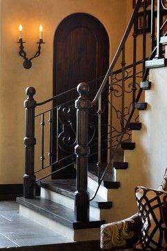 36 Best Tuscan Round Hammered Iron Baluster Stair Patterns