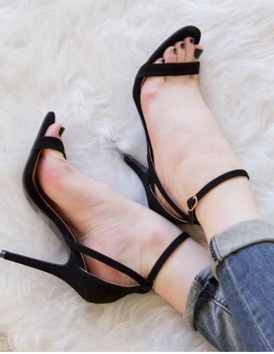 1000  ideas about Ankle Strap Heels on Pinterest | Womens high ...