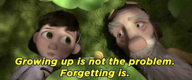 """Growing up is not the problem. Forgetting is."" - The Little Prince movie (2015)  #movie"