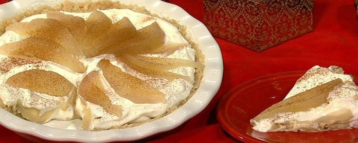 Pear Crunch Pie Recipe   The Chew - ABC.com
