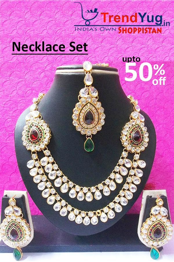 www.trendyug.in Exclusive Deals And Best Offers Online Limited Period Offer. Offer Valid Till Stock Lasts. ✓All over India Shipping ✓COD Option ✓100% Original Brand Products.http://trendyug.in/…/shree-mauli-creation-marron-green-stone