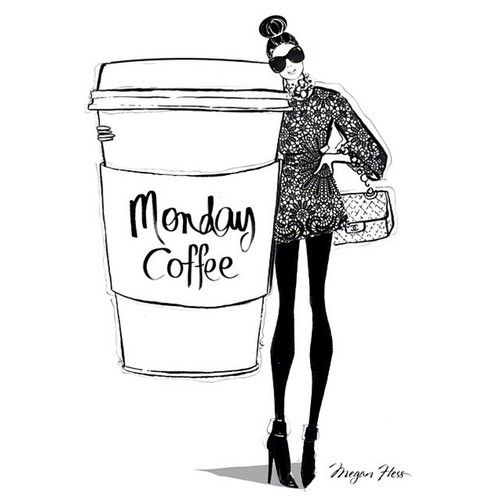 Monday coffee #BlackandWhite #Sketch