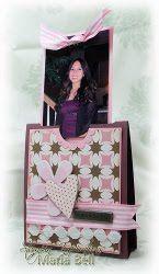 Photo Slider Card Tutorial | AllFreeChristmasCrafts.com