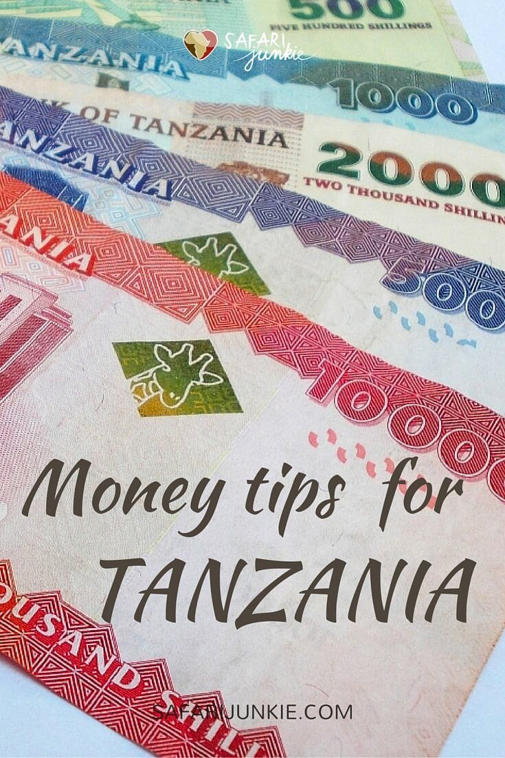 Tanzania Guide: Money tips for travel to Tanzania - Before you visit Tanzania, make sure how to handle money matters. #tourism #tanzania