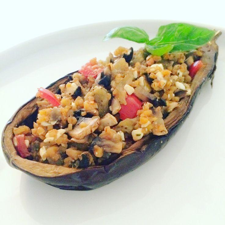 stuffed eggplant / aubergine farcie