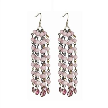 Rosary Bead Earrings