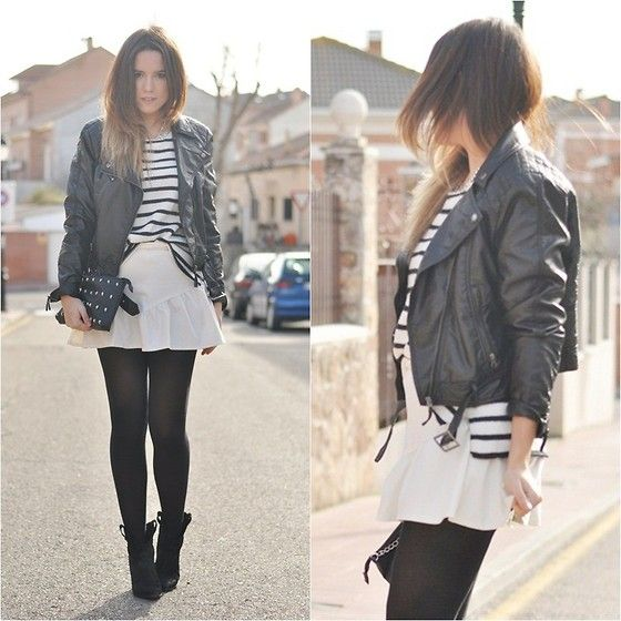 White Skirt (by Crris LoveShoppingandFashion) http://lookbook.nu/look/4489069-White-Skirt
