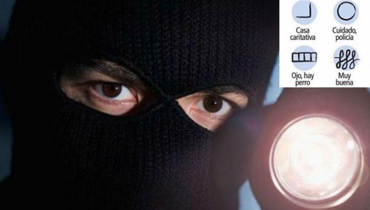 Los 19 códigos que usan los ladrones para marcar y robar tu casa. ¿Sabes cómo evitarlo?