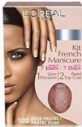 Test the New French Manicure Kit from L'Oreal!