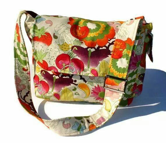 Fruitful Harvest Messenger Bag - Plus Size - Curvy Fashion - Bold - Unique - Renegade