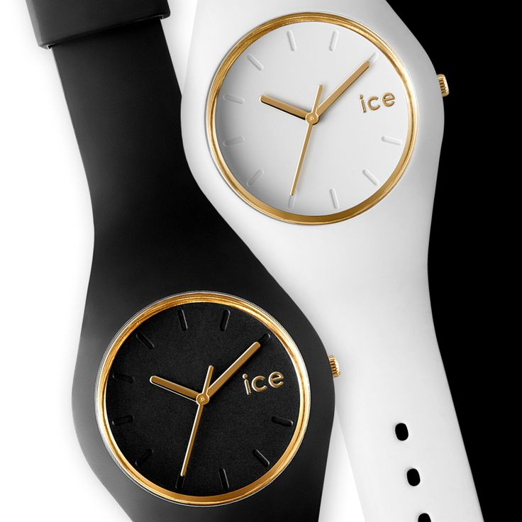 New From Ice Watch Ice Glam With Rose Gold Batons And Rim