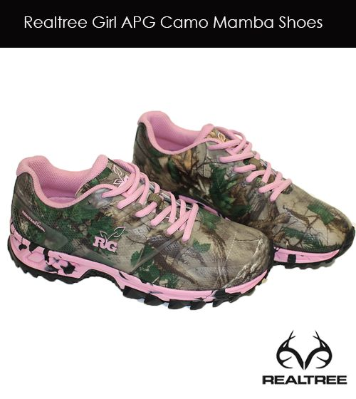 Realtree Girl Mamba APG Camo Tennis Shoes #realtreegirl #camoshoes