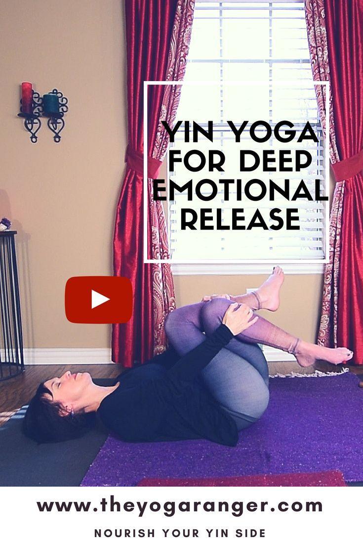 Free 75 Min Yin Yoga For Deep Hip Stretch Emotional Release Yin Yoga Yin Yoga Sequence Yoga Guide