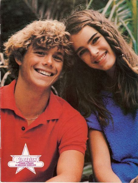 Brooke Shields with Christopher Atkins